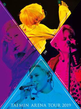 LIVE Blu-ray&DVD『TAEMIN ARENA TOUR 2019 ~X™~』 初回限定盤 Blu-ray